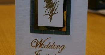 הזמנות ממותגות לחתונה