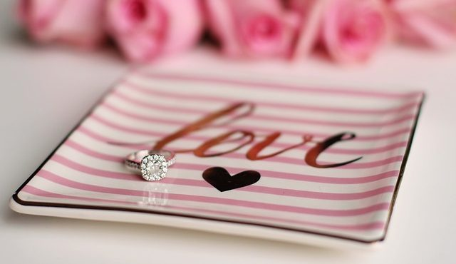 טבעת אירוסין מיוחדת