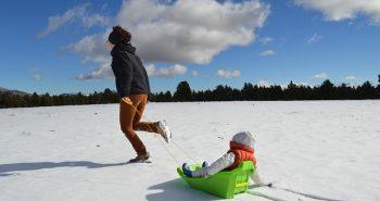 טיול עם ילדים בחורף