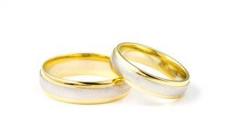טבעות אירוסין זהב לבן
