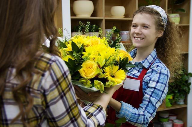 חנות פרחים בנשר